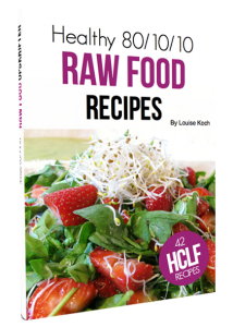 Healthy 801010 raw food recipes