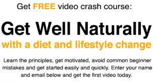 Get well naturally Crash Course
