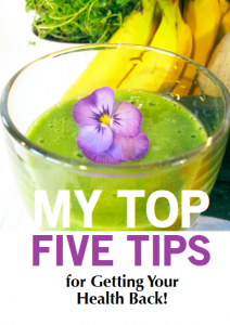 Top Five Tips cover
