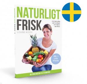 Naturligt Frisk 3D m. Svensk flag
