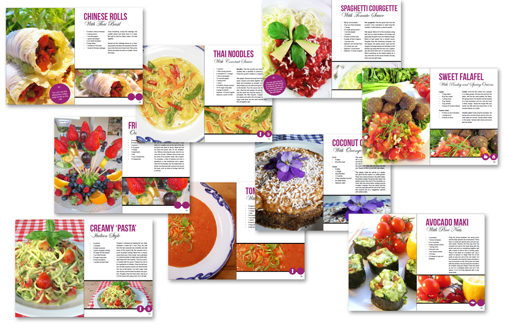 Healthy raw food 80/10/10 recipes