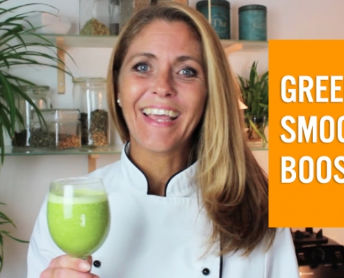 Boost your health with green smoothies